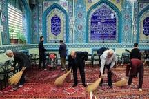 69 مسجد بندرانزلی برای استقبال از ماه رمضان غبارروبی شد