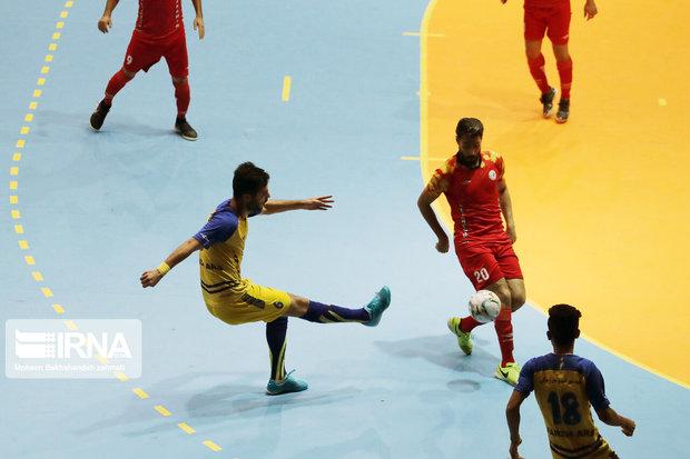 تیم فوتسال ارژن شیراز از قعر جدول جدا شد