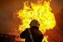 آتش سوزی قطب صنعتی بازنه شازند خسارت جانی نداشت