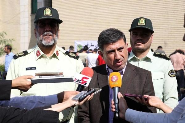 فعالیت نیروی انتظامی مردم محور است  در البرز باندهای تشکیلاتی وجود ندارد