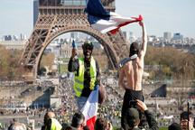 برگزاری بیستمین شنبه اعتراضی جلیقه زردها در فرانسه