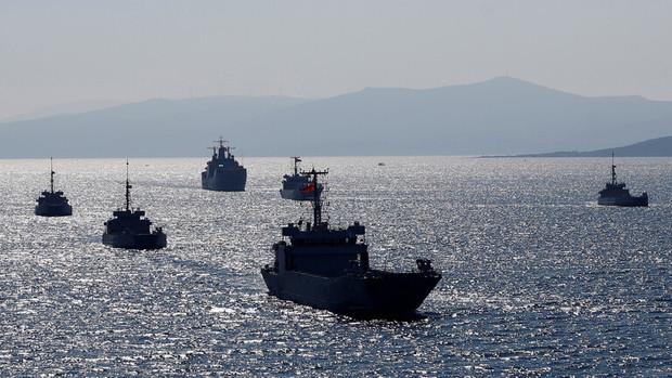 غرب علیه آنکارا؛اتحاد آمریکا و اروپا در رویارویی با ترکیه در مدیترانه