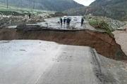 مسیر ارتباطی روستای چمشیر سیروان قطع شد