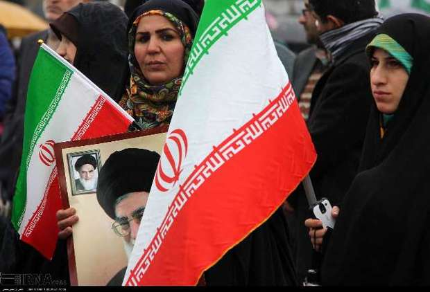 نمایش اراده و وفاداری جامعه رسانه ای گیلان به انقلاب در راهپیمایی 22 بهمن