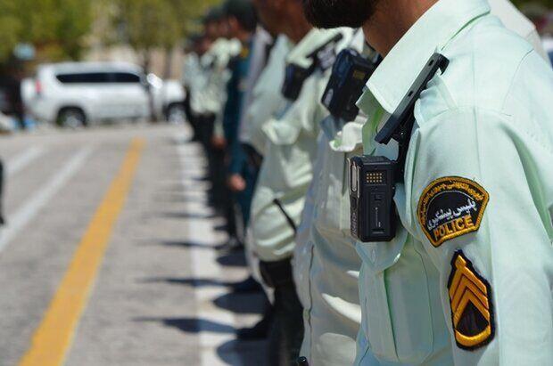 اقتدار پلیس در کرمان