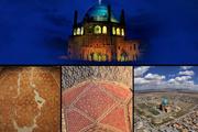 بازدید گذرا و مجازی از جاذبه های تاریخی زنجان