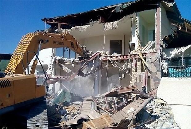 17 مورد ساخت و ساز غیرمجاز در شمیرانات تخریب شد