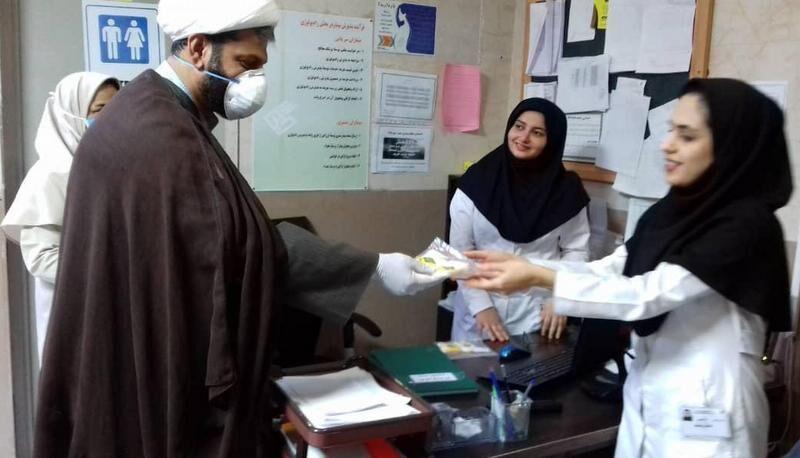 طرح   مهر رضوی در بیمارستان دیلم اجرا شد