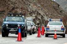 جاده های کندوان و هراز در تعطیلات هفته اینده یک طرفه می شود