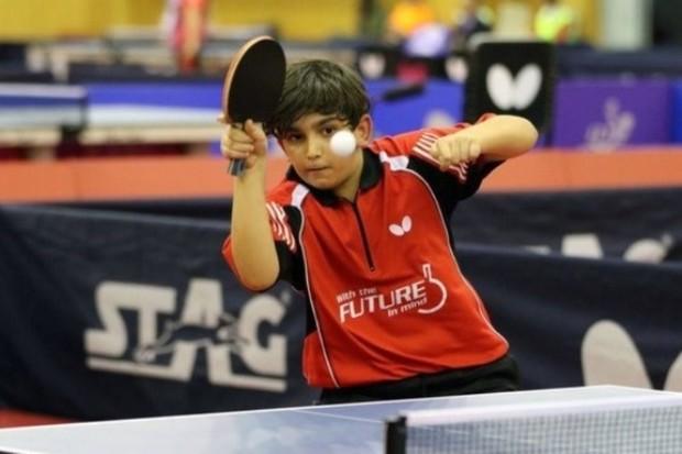 نابغه پینگ پنگ البرز مدال برنز تیمی رقابت جهانی را کسب کرد