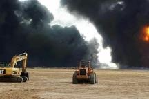 آخرین وضعیت نشت نفت خط لوله امیدیه  تخلیه روستا فقط برای رعایت ایمنی بود