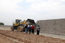 ساخت و ساز غیرمجاز در هشت هکتار زمین کشاورزی دزفول تخریب شد