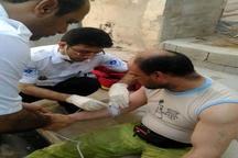 گرما 6 پاکبان شهرداری بوشهر را روانه بیمارستان کرد+عکس
