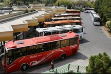 670 دستگاه خودرو مسافران را در محورهای قم جابه جا می کنند