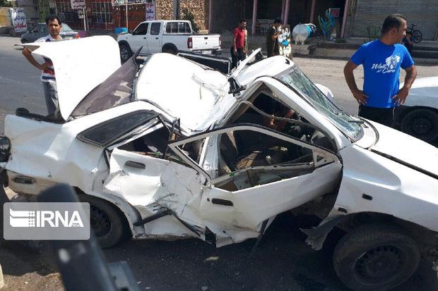 ۱۴ تن در حوادث اصفهان مصدوم شدند