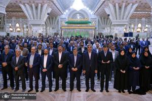 تجدید میثاق مدیران و کارکنان تامین اجتماعی با آرمان های حضرت امام(س)