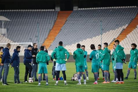 تمرین تیم ملی فوتبال پیش از سفر به بوسنی+تصاویر