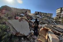 زلزله شدید در غرب ترکیه + فیلم