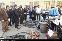 باند سارقان خودرو و منزل در شرق استان تهران متلاشی شد