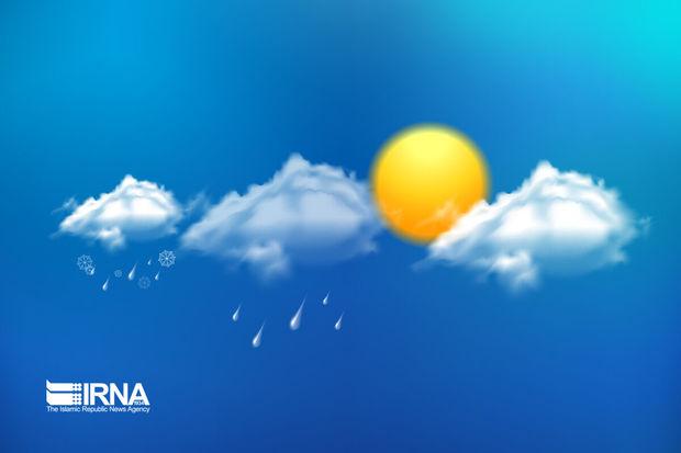 احتمال بارش های پراکنده در گیلان طی فردا