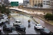 احتمال طغیان رودخانه، کنارگذرهای شیراز را مسدود کرد