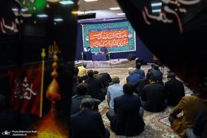 عرض ارادت اهالی رسانه و فرهنگ به ساحت مقدس حضرت سیدالشهدا(ع)
