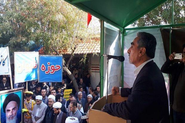 ۱۳ آبان نماد وحدت و همدلی ملت ایران است