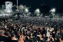کرونا، خیابانهای «بلگراد» را به صحنه جنگ تبدیل کرد