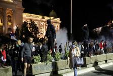 تظاهرات مردم صربستان به قرنطینه تبدیل به اعتراض علیه دولت شد