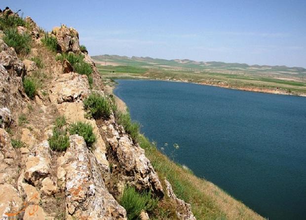 دریاچه بزنگان تصویری از زیبایی های آبی خراسان رضوی