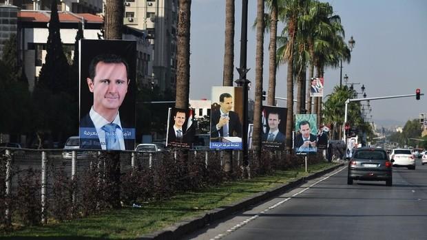 بشار اسد در مسکو+تصاویر