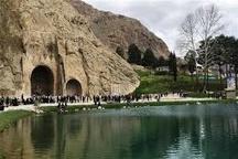 سفر یک میلیون و 626 هزار نفر به استان کرمانشاه  طاق بستان با بیشترین بازدیدکننده