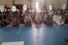 برگزاری جشنواره بازی های بومی و محلی دانش آموزی درگناوه