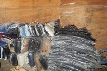 2 میلیارد ریال لباس خارجی قاچاق در مرند کشف شد