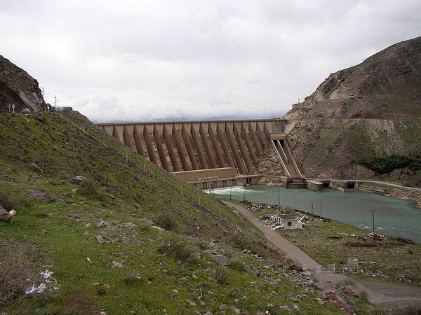 رهاسازی یک میلیارد و 789 میلیون متر مکعب آب از سد سفیدرود