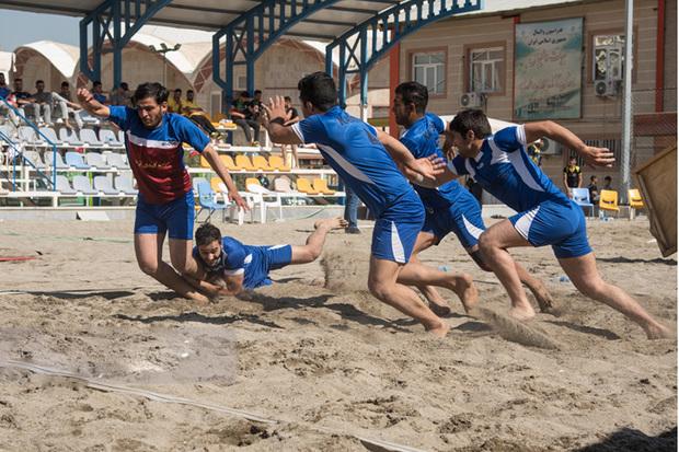 پیکارهای کبدی ساحلی قهرمانی یزد آغاز شد