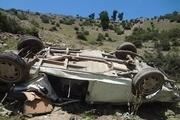 واژگونی خودرو موجب مرگ ۲ نفر در کمربندی شیراز شد