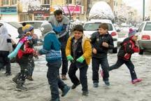 مدارس همدان در نوبت بعدازظهر شنبه تعطیل شد