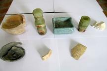 کشف عتیقههای پنج هزار ساله در جیرفت  دو نفر دستگیر شدند