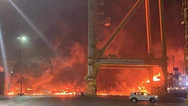 آیا عربستان در آتش سوزی بزرگ در امارات دست دارد؟