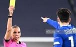 عکس/ قضاوت تاریخی یک زن در لیگ قهرمانان اروپا