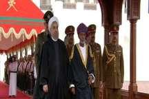 رییس جمهوری با استقبال رسمی وارد عمان شد