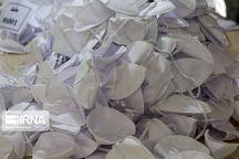 حدود ۱۰ هزار ماسک در شهر مشهد کشف شده است