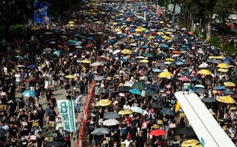 برنامهریزی معترضان هنگ کنگی برای بازی با ایران