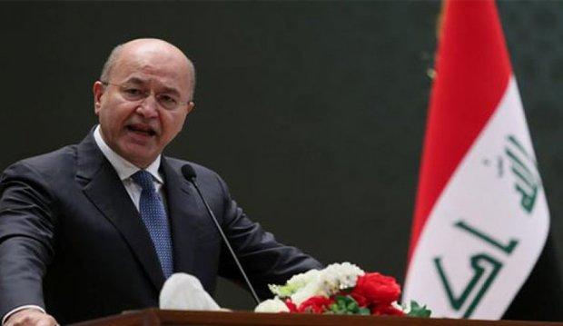 رئیس جمهور عراق: خواهان روابط متوازن با ایران و آمریکا هستیم