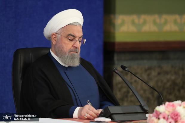 روحانی به محسنی اژه ای رییس جدید قوه قضاییه تبریک گفت