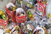 ۸۰۰ بسته سبد غذایی در بین خانوادههای نیازمند تایبادی توزیع شد