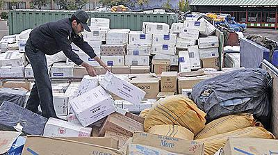 کشف محموله پنج میلیاردی قاچاق کالا در چهارمحال و بختیاری