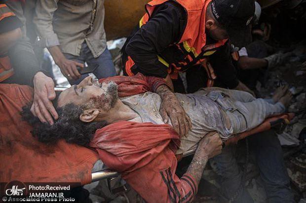 غزه در «اشک و آه و دود و گلوله و آتش»+ تصاویر