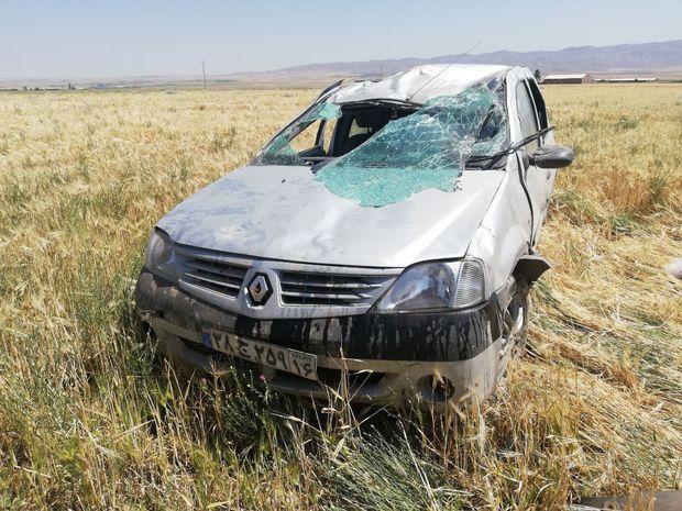 حادثه رانندگی در بویین زهرا منجر به فوت یک کودک شد